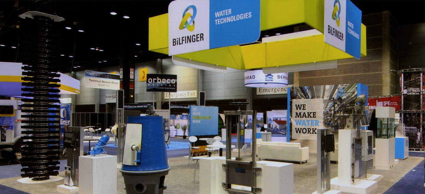 Bilfinger Tradeshow Display
