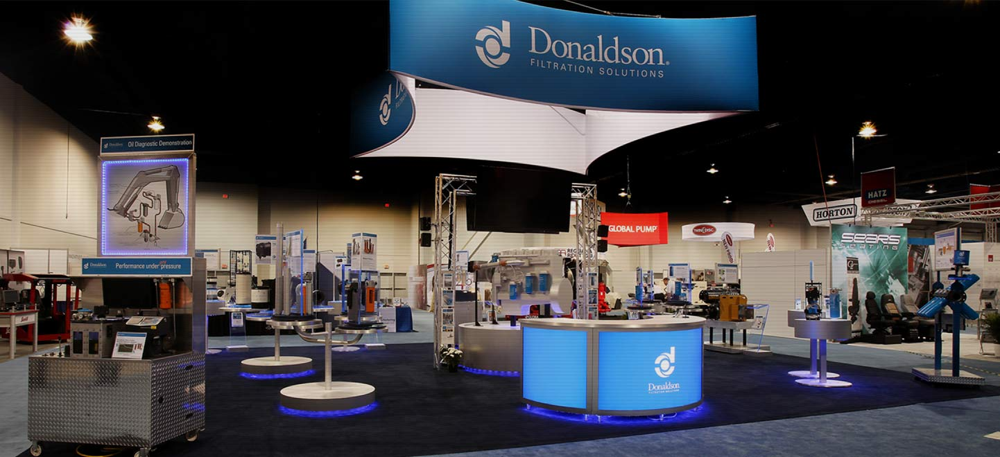 Donaldson Tradeshow Display